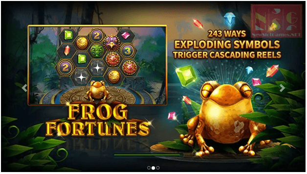 Frog Fortunes Game Features
