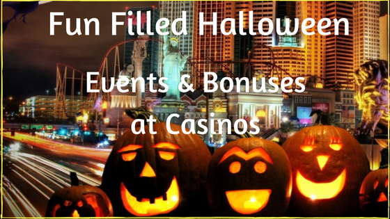 Fun filled Halloween Events and Bonuses at CasinosWinMeNot