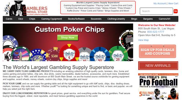 Gamblers Store