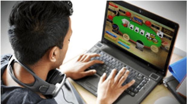 Gambling addict and online casino