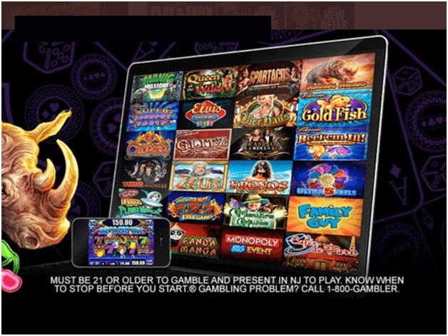 Games to play at Harrah's online casino- slot machines