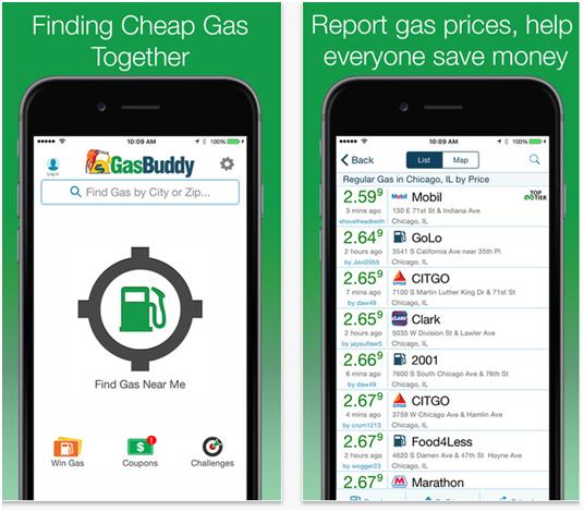 Gas Buddy App
