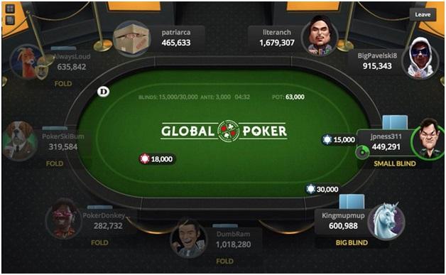 Global Poker games app