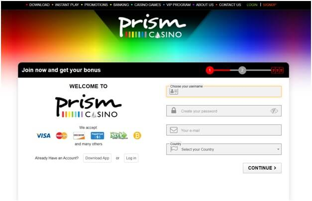 Guide to online gambling at Prism Casino cashier