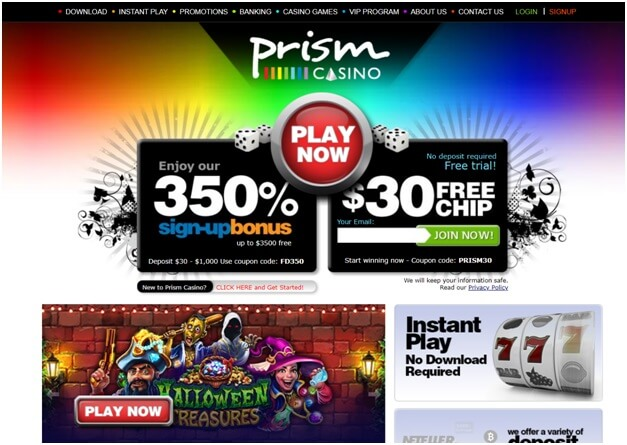 Guide to online gambling at Prism Casino
