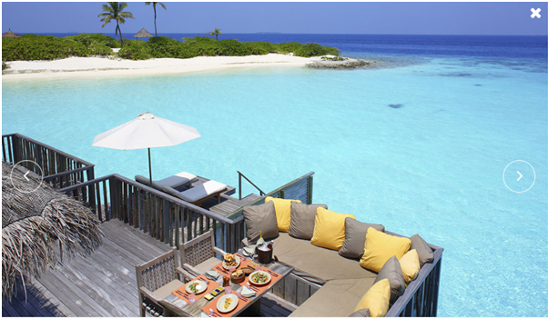 Culinary Adventure at Maldives for Valentine day