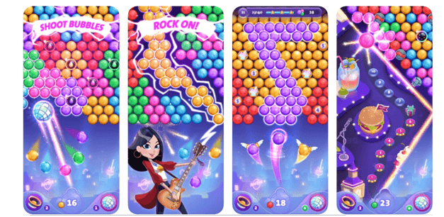Hard Rock Casino Bubble Shooter Game app