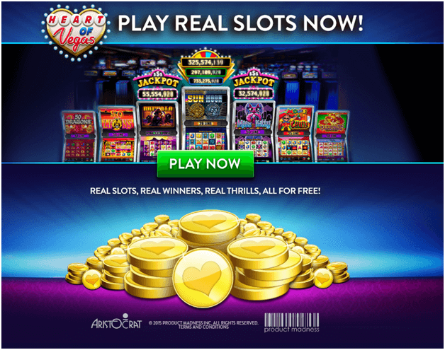 Heart of Vegas Play Now