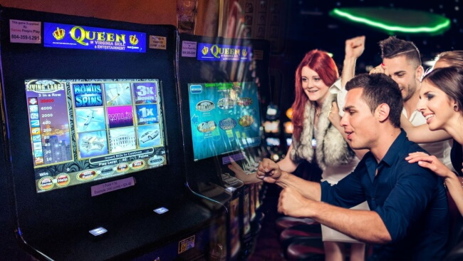 Here are the basics of how a modern slot game work