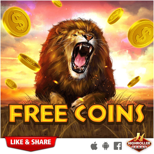 High roller Vegas Slot App- How to get free coins