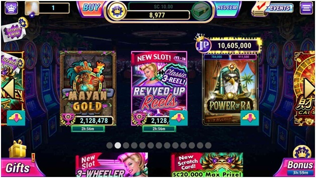 How can I get free coins at luckyland slots