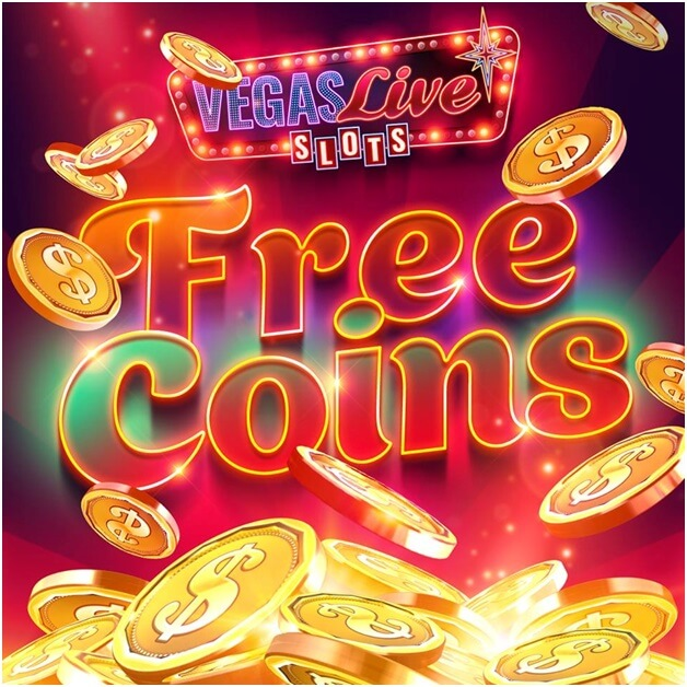 How to get free coins in Vegas live slots game app