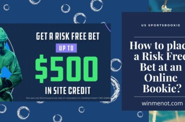 How to place a Risk Free Bet at an online bookie