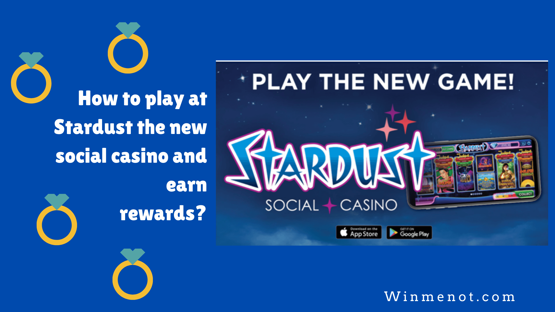 How to play at Stardust the new social casino and earn rewards_