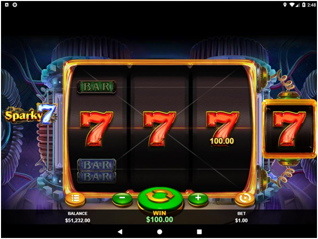 How to play the Sparky 7 slot