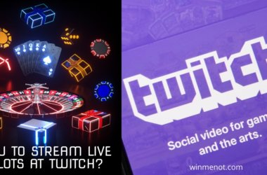 How to stream live slots at Twitch