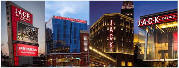 Jack Casino $10 offer
