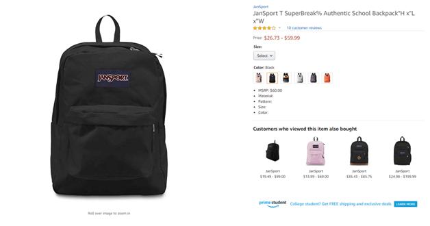 School bags deals