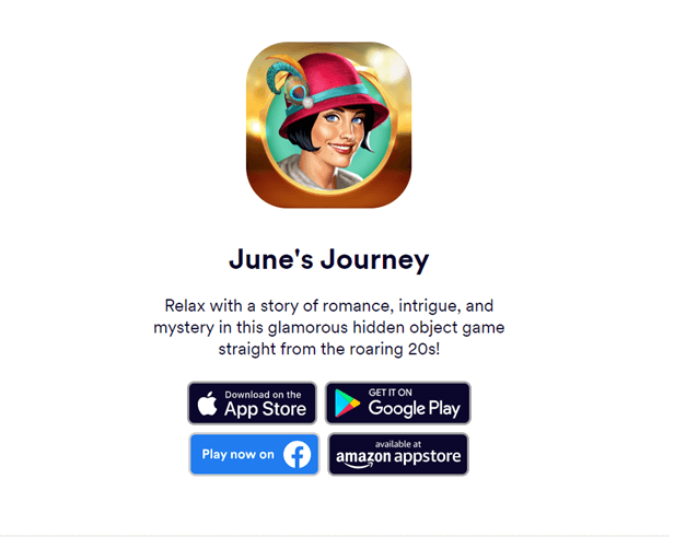 How to get started to play June's Journey?