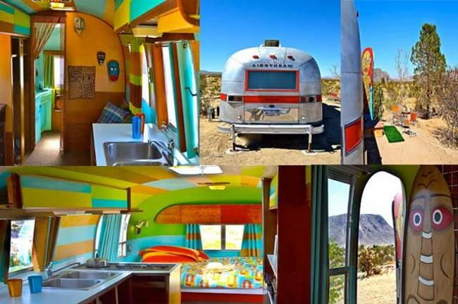 Kate's Lazy Desert Airstream Motel