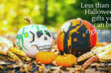 Less than $5 Halloween gifts you can buy right away