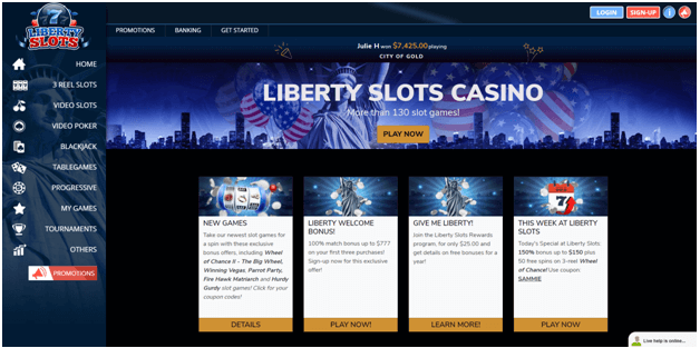 Liberty slots casino promotions