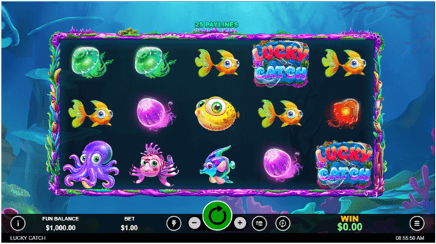 Lucky Catch slot - Game Symbol