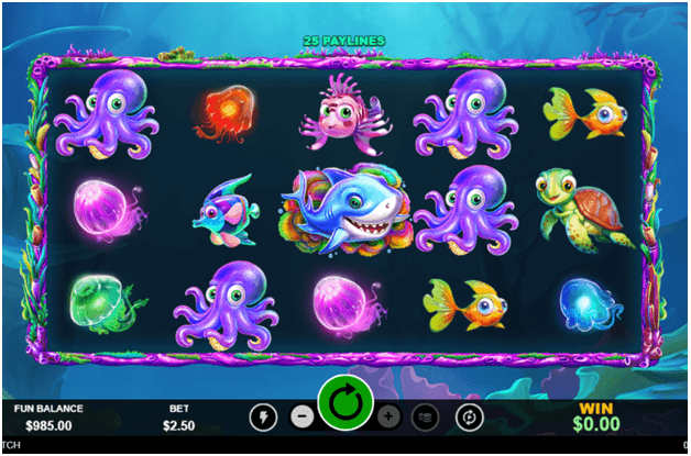 Lucky Catch slot - How to play