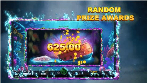 Lucky Catch slot - What will you win