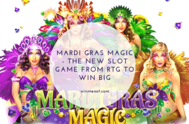 Mardi Gras Magic - The new slot game from RTG to Win Big