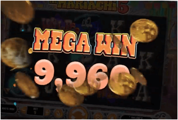 Mariachi 5 slot game jackpot