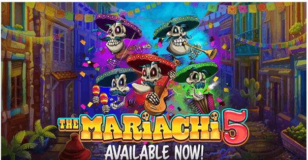 Mariachi 5 new slot game