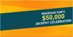 Mohegan sun casino Jackpot celebration