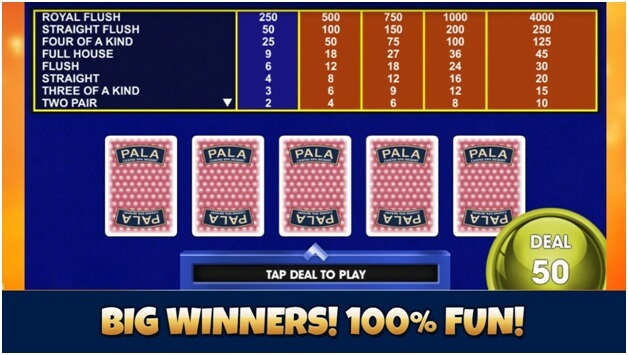 MyPala casino app features