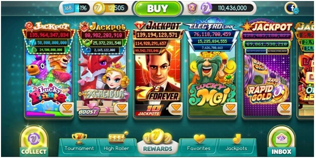 myvegas slots app features