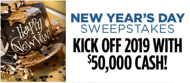 New Year Sweepstakes