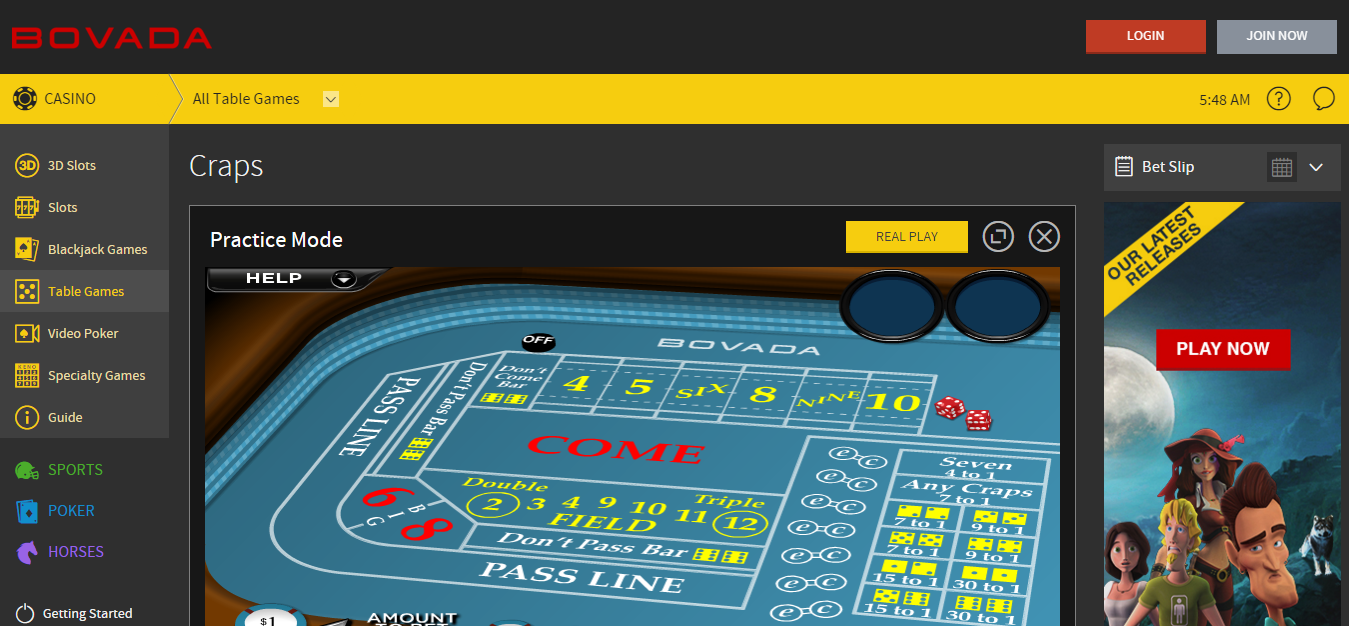 online casino site play roulette now