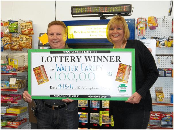PA lottery winners
