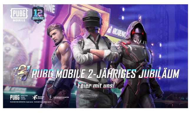 PUBG Mobile app for gamers
