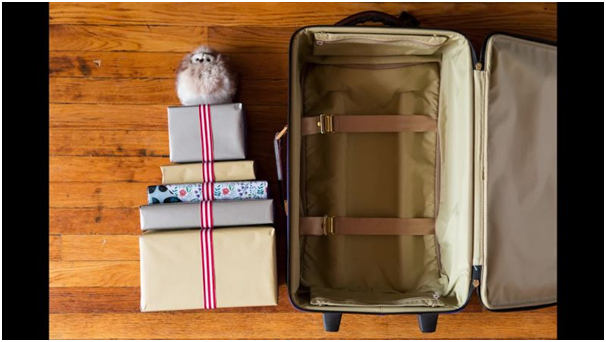 Pack gifts in right suitcase