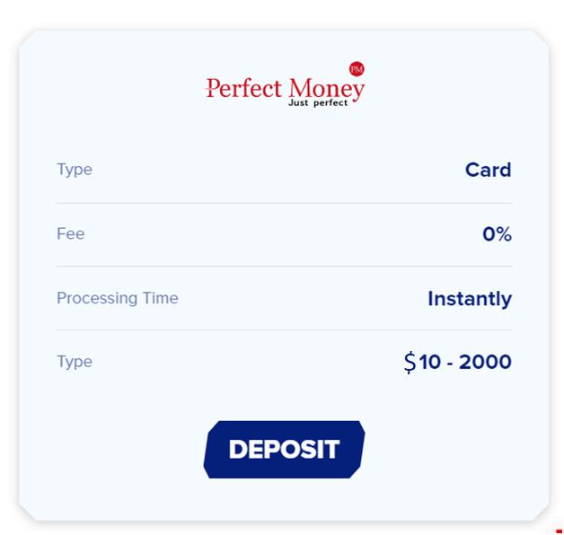 Perfect Money deposits