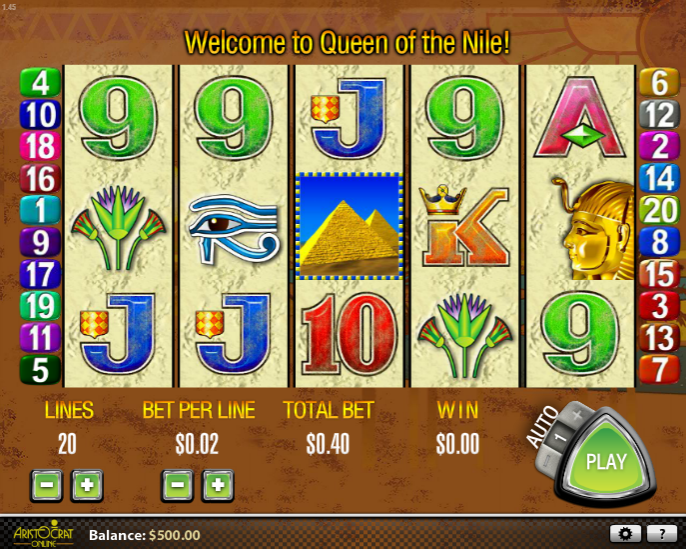 play slot machine games online for free