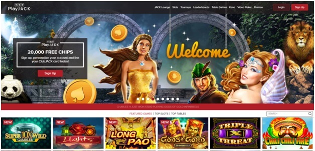 Play Jack 777 online casino to play free slots