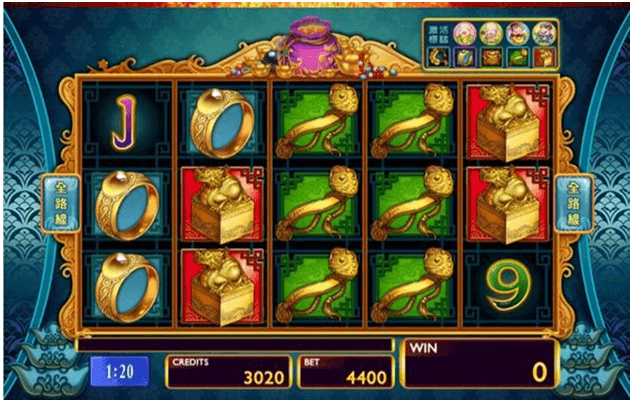 Game symbols in Plentiful Treasure slot