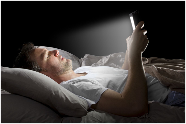 Switch off your cell phone when in bed