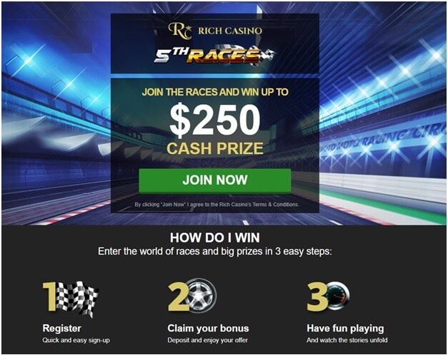 Races at Rich Casino