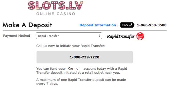 Rapid Transfer Slots.Lv
