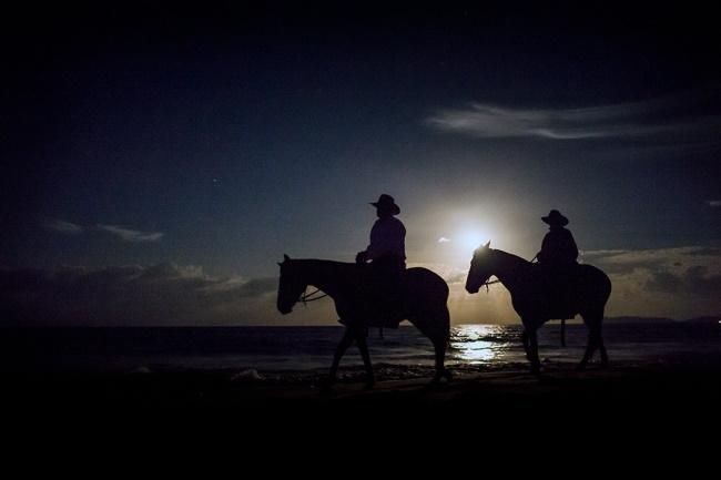 Ride Horses Under a Full Moon