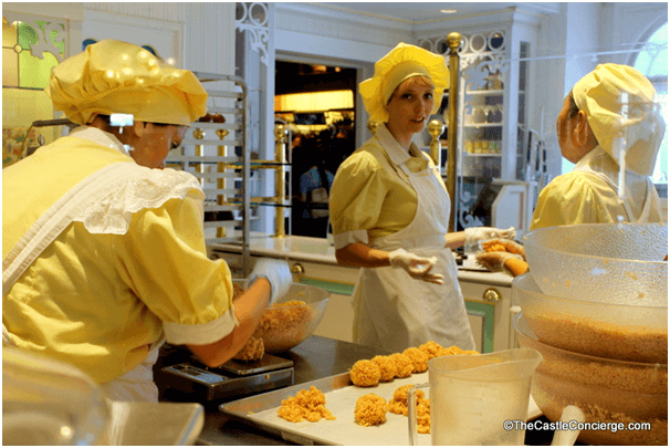 Sample foodies for free at Disney