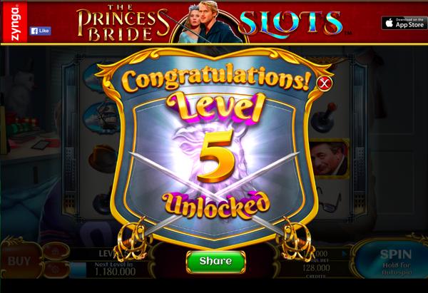 Princess Bride Slots